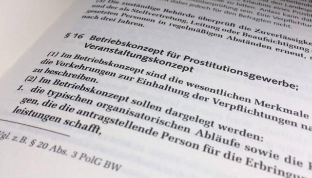 Betriebskonzept, Prostituiertenschutzgesetz, ProstSchG, Prostitutionsstätten, § 33 ProstSchG, Bußgeld, Bußgeldbescheid, Ordnungswidrigkeit, OWi, OWiG, Erlaubnis, Bussgeld, Betrieb, Behörde, Zulassung, Kondompflicht